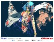 GAINAX website [GAINAX.NET] Top page art work