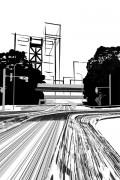 Spot Illustration for the novel [tora no o] in DOKURAKU
