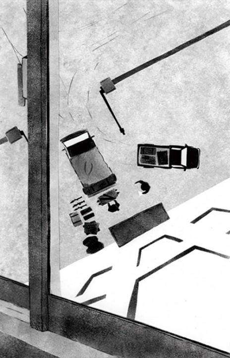 : 雑誌挿絵 「砂漠の命」5話(小説宝石/光文... 雑誌挿絵 「砂漠の命」8話(小説宝石/光文