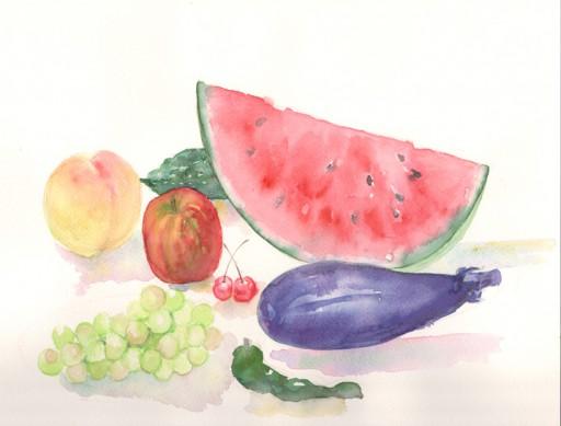 : 夏の果物&野菜