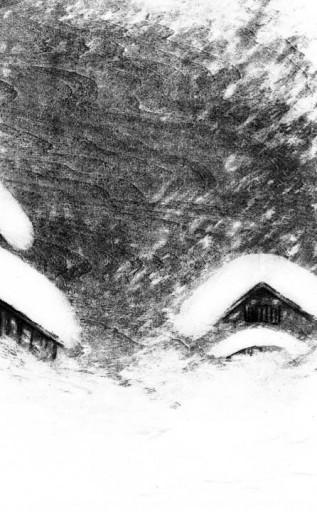 : 小説挿画 小説すばる 乾ルカ著 六月の輝き