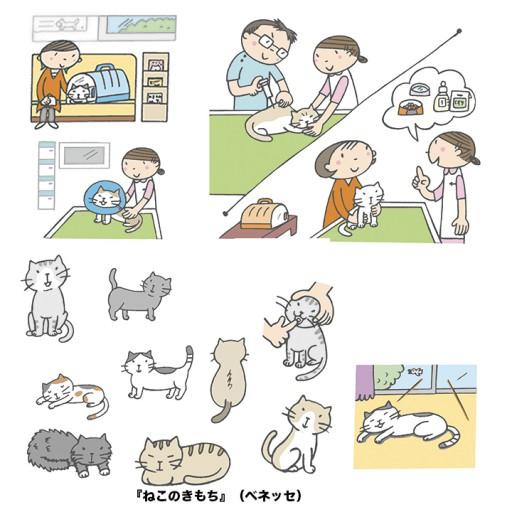 : 『ねこのきもち ('13.11月号)』特集<飼い主さんの後悔から学ぶ 猫がかかりやすいライフステージ別病気>(ベネッセコーポレーション)