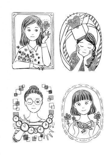 : 【仕事】「絹の言ノ葉」イラストレーション②