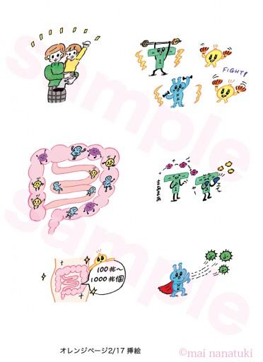 : 書籍;「数字アタマのつくりかた」三笠書房 挿絵 2016.12.02