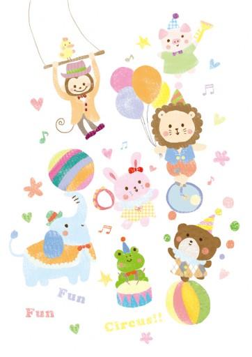 人気の壁紙 サーカス 動物 イラスト 壁紙 イラスト キャラクター