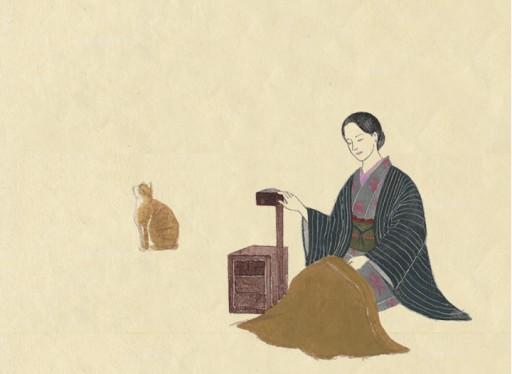 : Muro Saisei,Sakutaro Hagiwara and Ai Hagiwara
