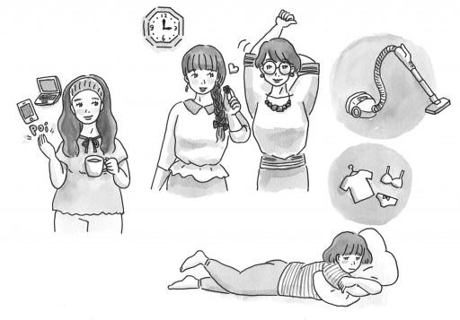 : 主婦と生活社 振袖記念日 特集カット