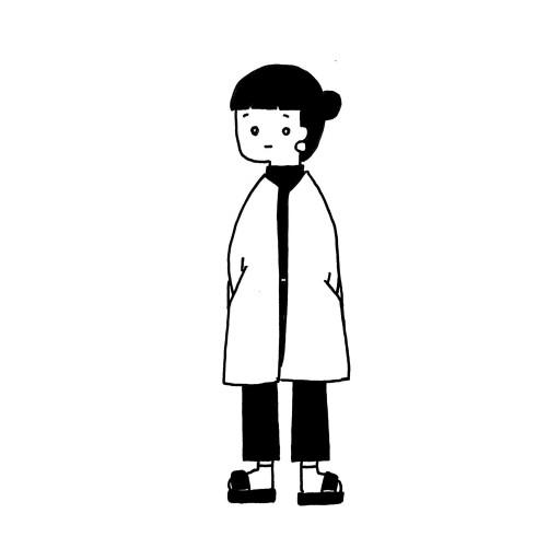 : 黒ワンピースgirl