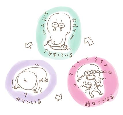: カレンダー用イラスト(ネコ)