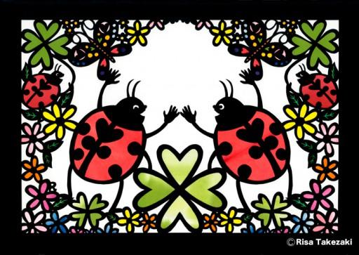 : リピートパターン Bouquet パターン(サブ)
