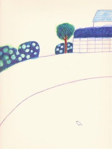 : 「鉄橋と桜吹雪」